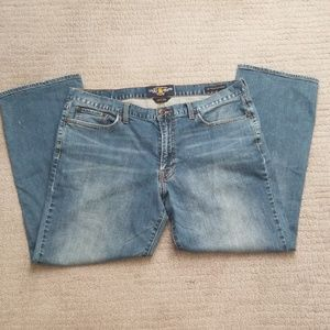 Lucky brand men's jeans, size W38 L30, straight.